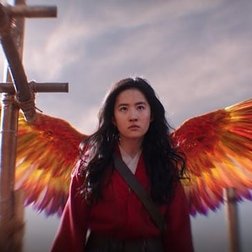 Mulan 2020 with wings