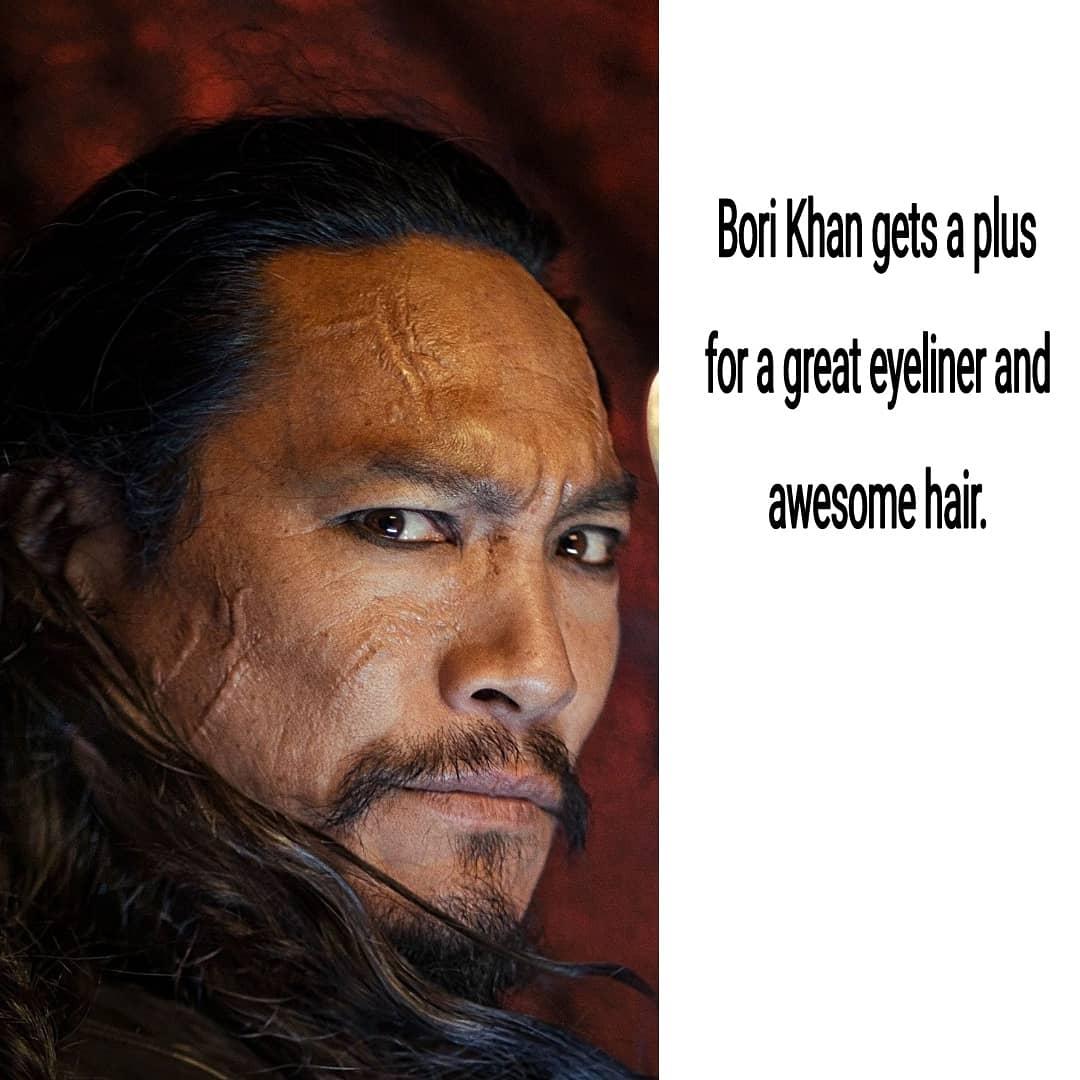 Image of Bori Khan a Mulan 2020 villain