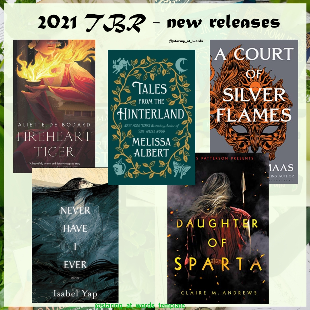 2021 new books