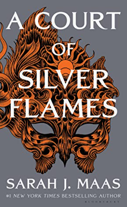 A court of silver flames book cover