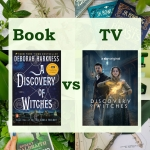 A Discovery of witches book vs tv poster