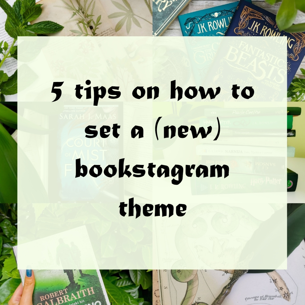 5 tips on how to set a (new) bookstagram theme title